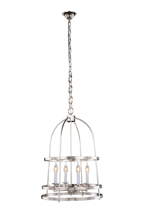 "Elegant Lighting 1498D18 Baltic 4 Light 18"" Wide Cage Style Pendant"