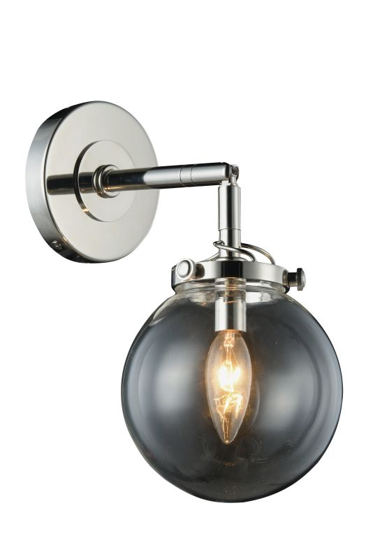 """Elegant Lighting 1507W6 Leda 1 Light 13"""" Tall Ambient Wall Sconce with"""