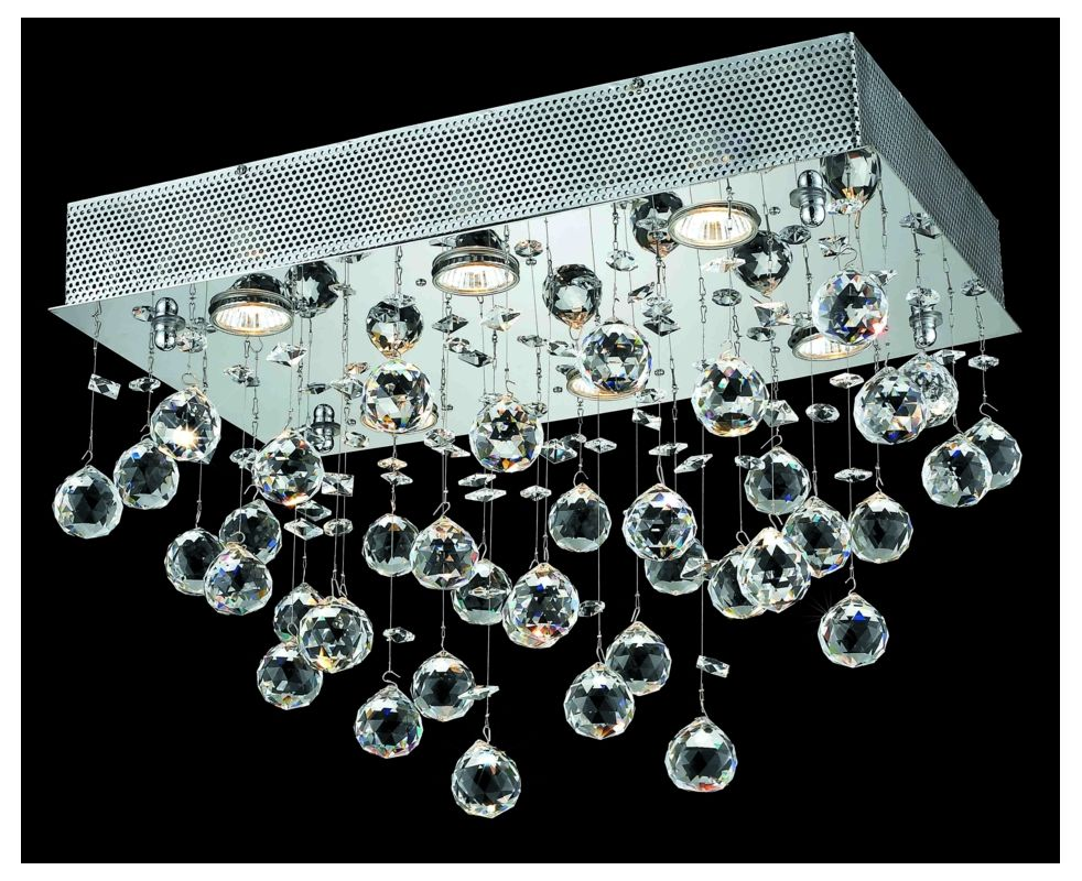 Elegant Lighting 2021F20C(LED) Galaxy 6-Light LED Single-Tier Flush Sale $3083.00 ITEM: bci2013189 ID#:2021F20C/SS(LED) :