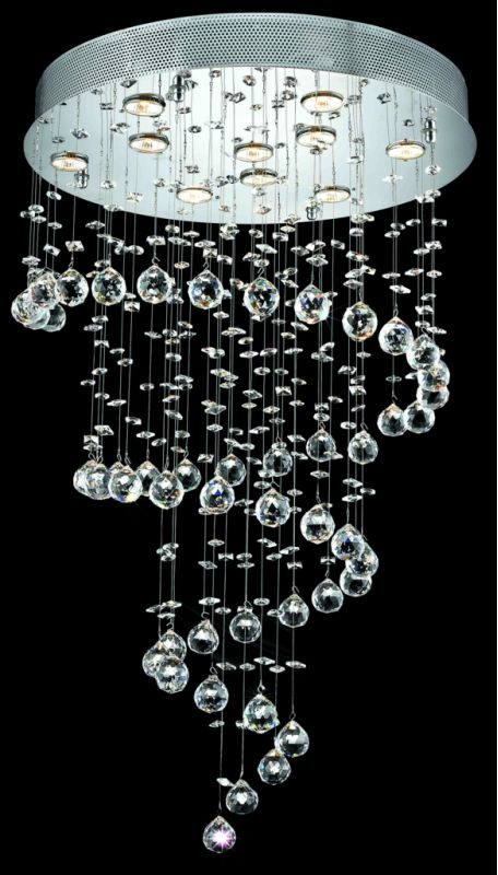 Elegant Lighting 2024D24C(LED) Galaxy 10-Light LED Single-Tier Sale $1836.00 ITEM: bci2013294 ID#:2024D24C/RC(LED) :