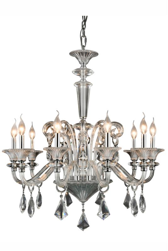 "Elegant Lighting 7871D32 Aurora 10 Light 32"" Wide Candle Style"