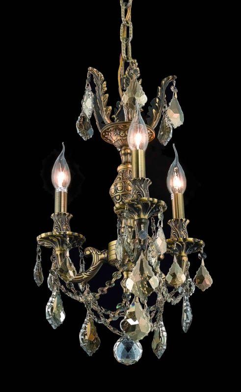Elegant Lighting 9503D13AB-GS Marseille 3-Light Single-Tier Crystal Sale $298.00 ITEM: bci2016619 ID#:9503D13AB-GS/RC UPC: 609613260148 :