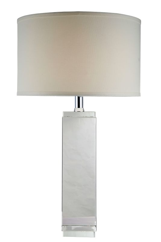 "Elegant Lighting TL1003 Regina 17"" Wide Single Light Accent Table Lamp"