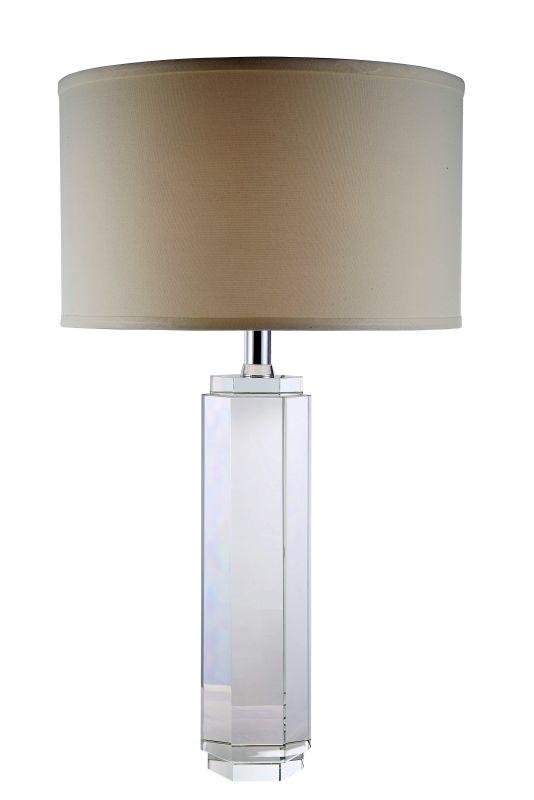 "Elegant Lighting TL1004 Regina 17"" Wide Single Light Accent Table Lamp"