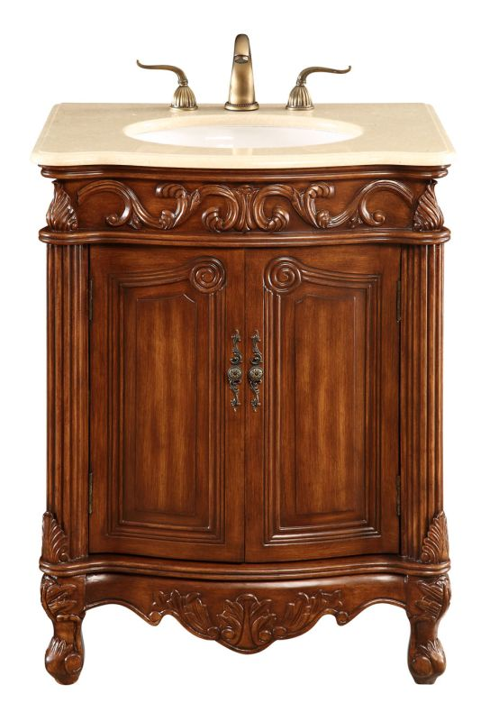 """Elegant Lighting VF-1007 Danville 27"""" Wide 2 Door Vanity Set - Sale $588.80 ITEM: bci2890252 ID#:VF-1007 UPC: 848145018302 :"""