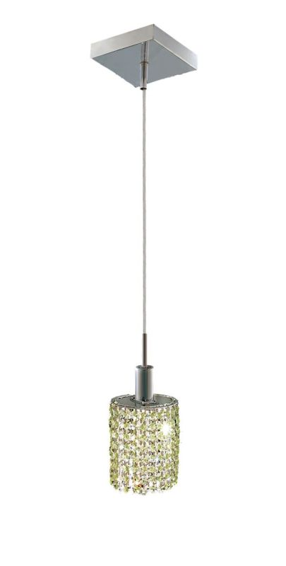 Elegant Lighting 1281D-S-E-LP Mini 1-Light Crystal Pendant Finished Sale $370.00 ITEM: bci2008359 ID#:1281D-S-E-LP/SS :