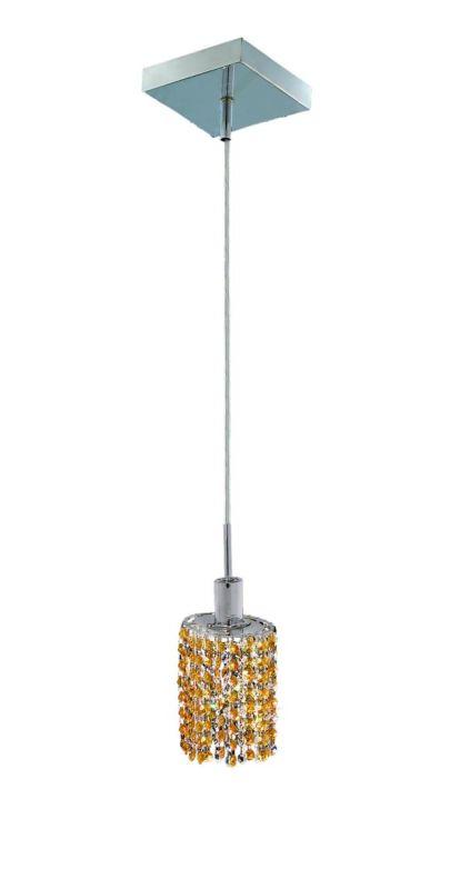 Elegant Lighting 1281D-S-E-LT Mini 1-Light Crystal Pendant Finished Sale $150.00 ITEM: bci2008360 ID#:1281D-S-E-LT/RC UPC: 609613230523 :