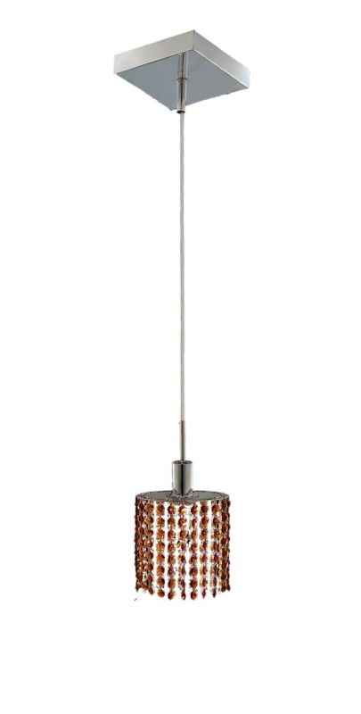 Elegant Lighting 1281D-S-E-TO Mini 1-Light Crystal Pendant Finished Sale $370.00 ITEM: bci2008367 ID#:1281D-S-E-TO/SS :