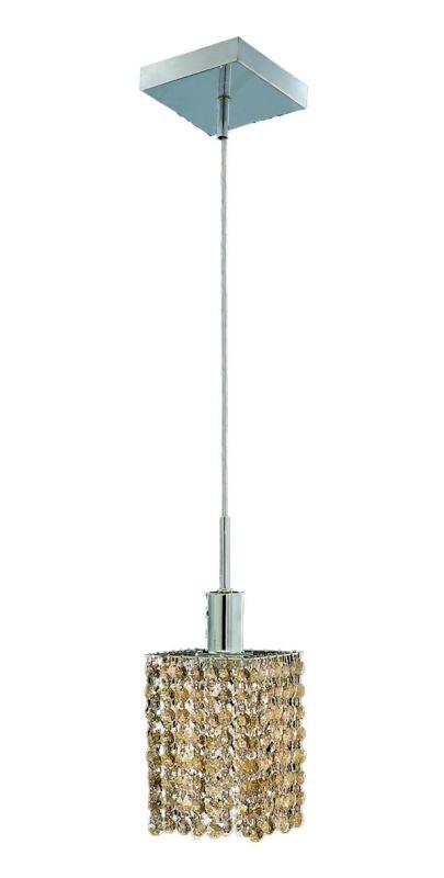 Elegant Lighting 1281D-S-S-GT Mini 1-Light Crystal Pendant Finished Sale $156.00 ITEM: bci2008414 ID#:1281D-S-S-GT/RC UPC: 609613230769 :