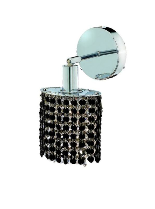 Elegant Lighting 1281W-R-E-JT Mini 1-Light Crystal Wall Sconce Sale $370.00 ITEM: bci2008437 ID#:1281W-R-E-JT/SS :