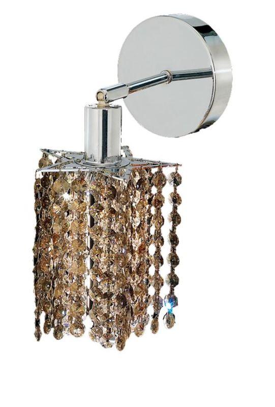 Elegant Lighting 1281W-R-P-GT Mini 1-Light Crystal Wall Sconce Sale $382.00 ITEM: bci2008455 ID#:1281W-R-P-GT/SS :