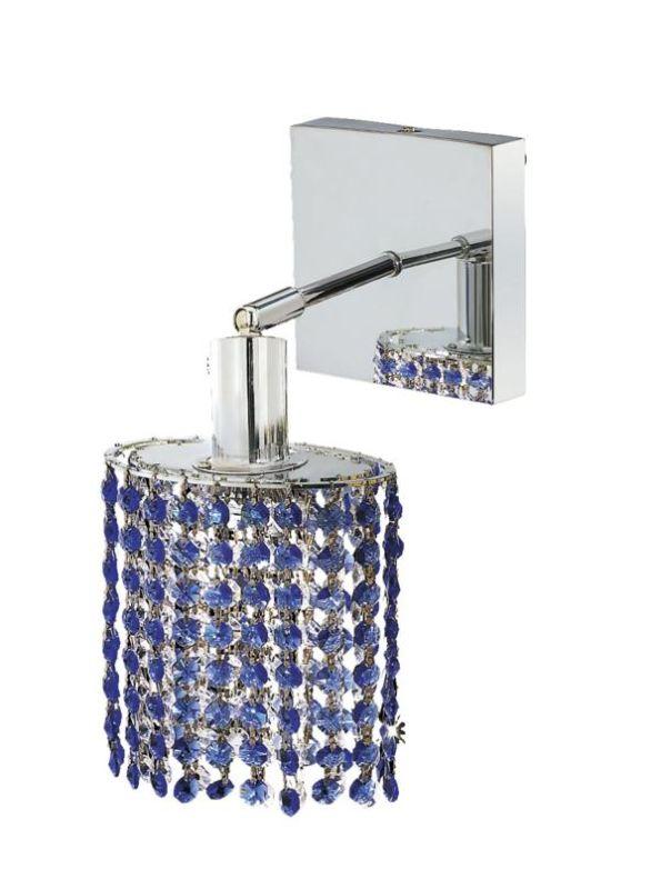 Elegant Lighting 1281W-S-E-SA Mini 1-Light Crystal Wall Sconce Sale $370.00 ITEM: bci2008525 ID#:1281W-S-E-SA/SS :
