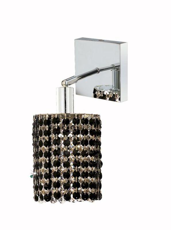 Elegant Lighting 1281W-S-R-JT Mini 1-Light Crystal Wall Sconce Sale $150.00 ITEM: bci2008556 ID#:1281W-S-R-JT/RC UPC: 609613231407 :