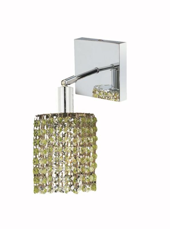 Elegant Lighting 1281W-S-R-LP Mini 1-Light Crystal Wall Sconce Sale $382.00 ITEM: bci2008559 ID#:1281W-S-R-LP/SS :