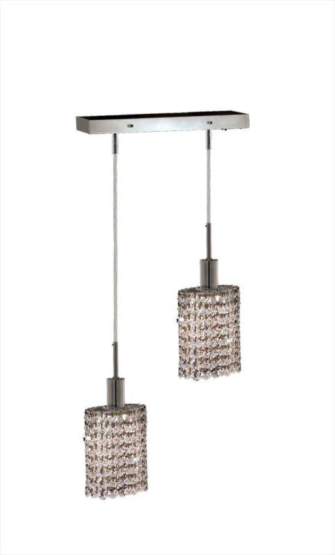 Elegant Lighting 1282D-O-E-CL Mini 2-Light Crystal Pendant Finished Sale $412.00 ITEM: bci2008592 ID#:1282D-O-E-CL/SA UPC: 848145023740 :