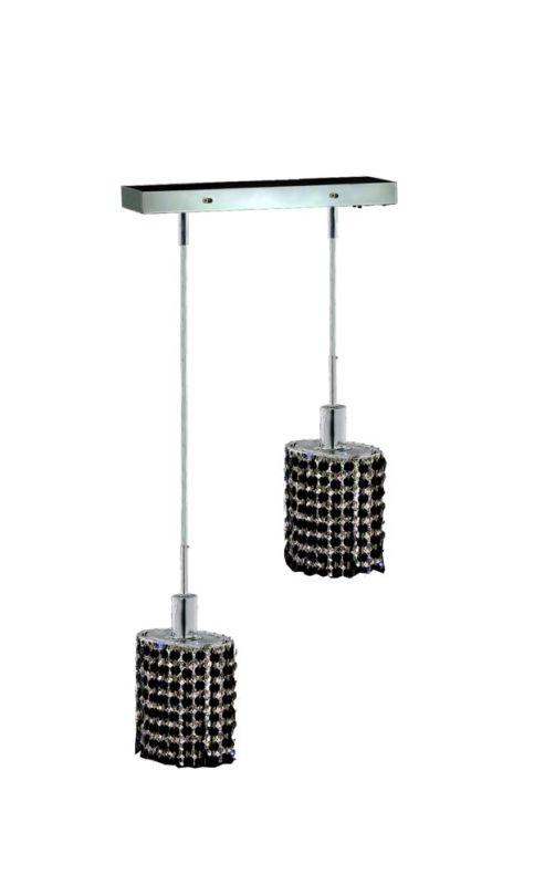 Elegant Lighting 1282D-O-E-JT Mini 2-Light Crystal Pendant Finished Sale $764.00 ITEM: bci2008597 ID#:1282D-O-E-JT/SS :