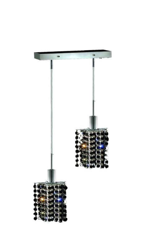 Elegant Lighting 1282D-O-P-JT Mini 2-Light Crystal Pendant Finished Sale $300.00 ITEM: bci2008616 ID#:1282D-O-P-JT/RC UPC: 609613231674 :