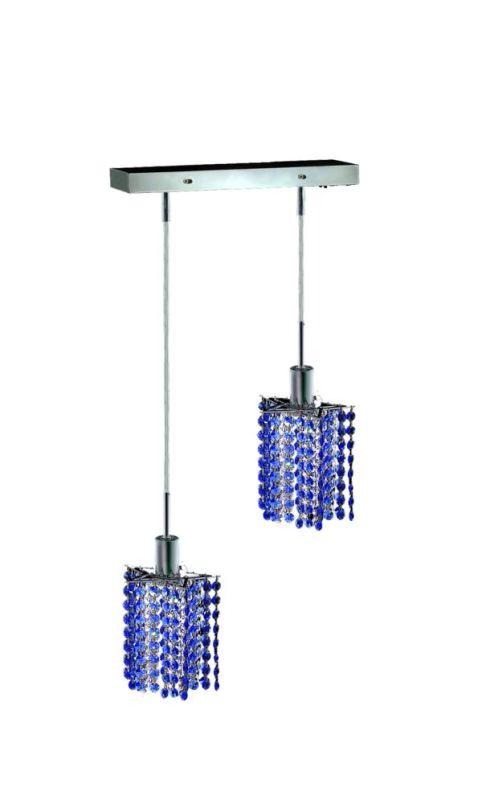 Elegant Lighting 1282D-O-P-SA Mini 2-Light Crystal Pendant Finished Sale $764.00 ITEM: bci2008625 ID#:1282D-O-P-SA/SS :