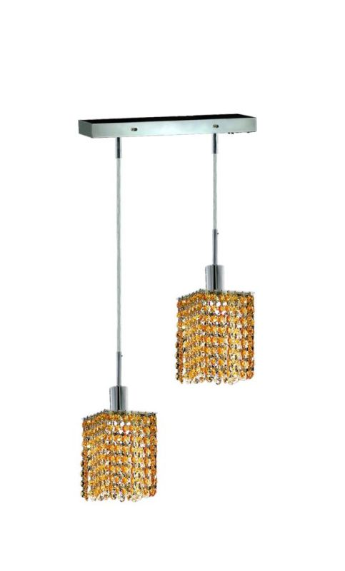 Elegant Lighting 1282D-O-S-LT Mini 2-Light Crystal Pendant Finished Sale $310.00 ITEM: bci2008660 ID#:1282D-O-S-LT/RC UPC: 609613231872 :
