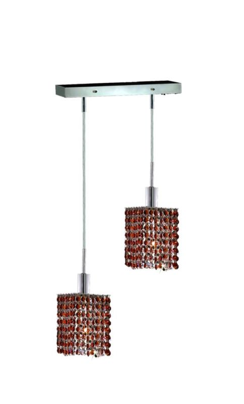 Elegant Lighting 1282D-O-S-TO Mini 2-Light Crystal Pendant Finished Sale $300.00 ITEM: bci2008666 ID#:1282D-O-S-TO/RC UPC: 609613231902 :