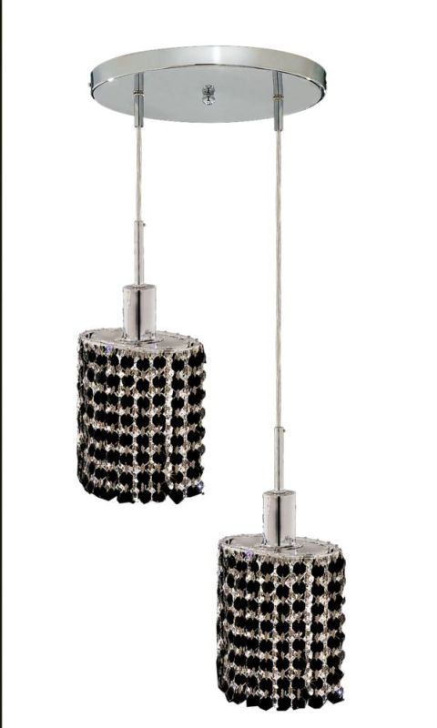 Elegant Lighting 1282D-R-E-JT Mini 2-Light Crystal Pendant Finished Sale $310.00 ITEM: bci2008676 ID#:1282D-R-E-JT/RC UPC: 609613231940 :