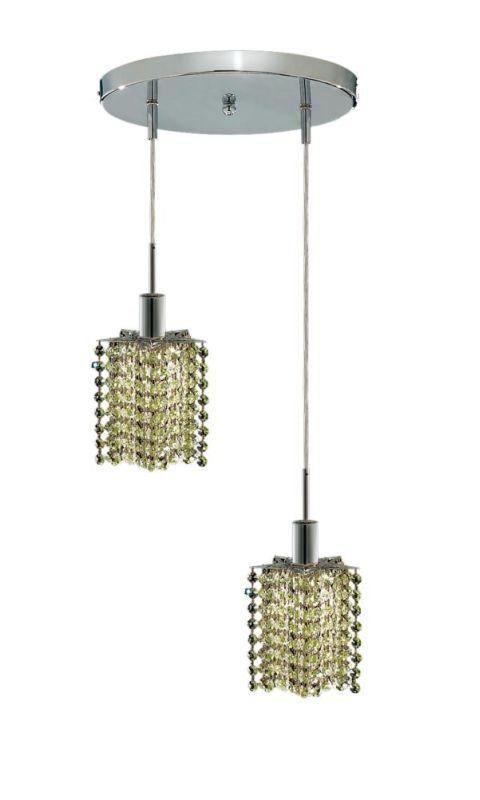 Elegant Lighting 1282D-R-P-LP Mini 2-Light Crystal Pendant Finished Sale $310.00 ITEM: bci2008698 ID#:1282D-R-P-LP/RC UPC: 609613232046 :