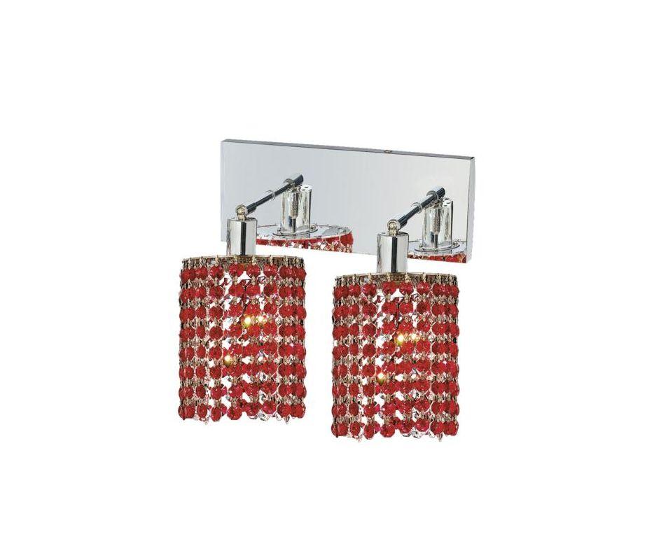 Elegant Lighting 1282W-O-E-BO Mini 2-Light Crystal Wall Sconce Sale $740.00 ITEM: bci2008749 ID#:1282W-O-E-BO/SS :