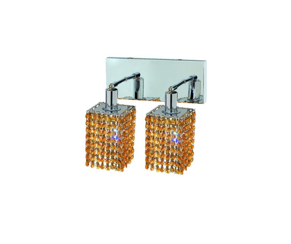 Elegant Lighting 1282W-O-S-LT Mini 2-Light Crystal Wall Sconce Sale $300.00 ITEM: bci2008820 ID#:1282W-O-S-LT/RC UPC: 609613232596 :