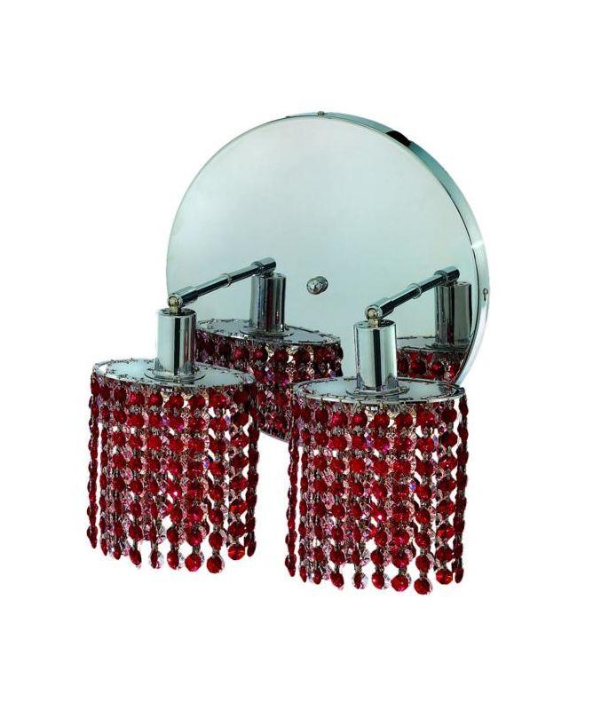 Elegant Lighting 1282W-R-E-BO Mini 2-Light Crystal Wall Sconce Sale $764.00 ITEM: bci2008829 ID#:1282W-R-E-BO/SS :