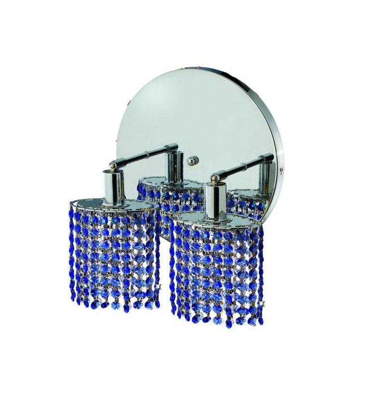 Elegant Lighting 1282W-R-E-SA Mini 2-Light Crystal Wall Sconce Sale $764.00 ITEM: bci2008845 ID#:1282W-R-E-SA/SS :