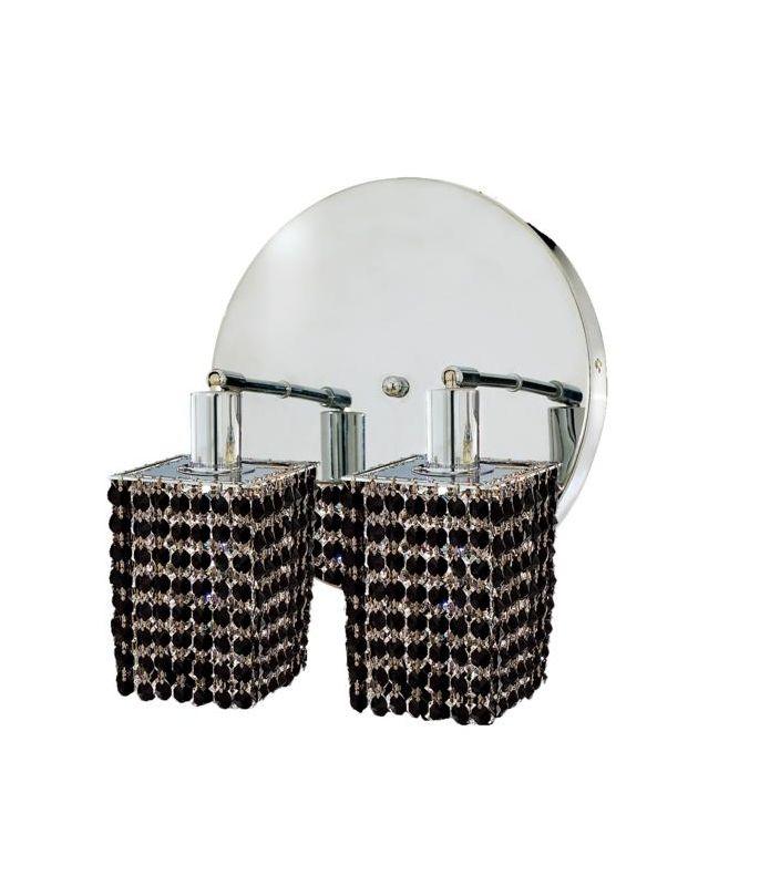 Elegant Lighting 1282W-R-S-JT Mini 2-Light Crystal Wall Sconce Sale $300.00 ITEM: bci2008876 ID#:1282W-R-S-JT/RC UPC: 609613232930 :