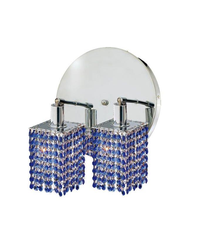 Elegant Lighting 1282W-R-S-SA Mini 2-Light Crystal Wall Sconce Sale $310.00 ITEM: bci2008884 ID#:1282W-R-S-SA/RC UPC: 609613232978 :