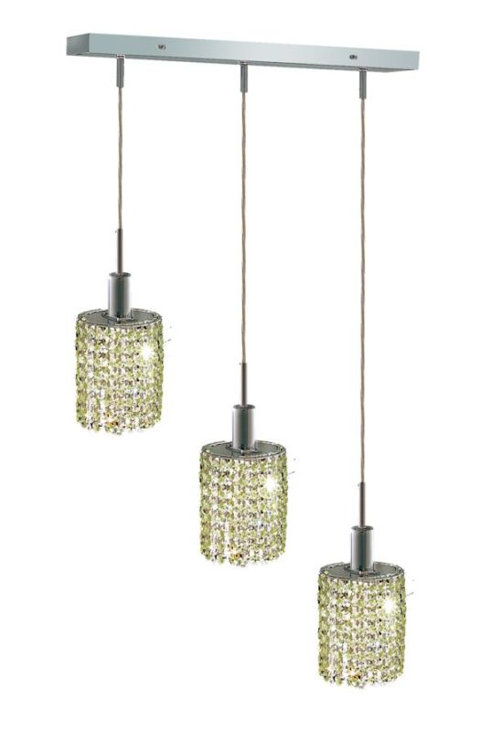 Elegant Lighting 1283D-O-E-LP Mini 3-Light Crystal Pendant Finished Sale $1110.00 ITEM: bci2008899 ID#:1283D-O-E-LP/SS :