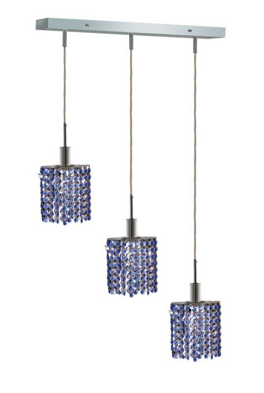 Elegant Lighting 1283D-O-E-SA Mini 3-Light Crystal Pendant Finished Sale $1144.00 ITEM: bci2008905 ID#:1283D-O-E-SA/SS :