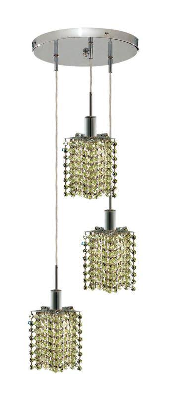 Elegant Lighting 1283D-R-P-LP Mini 3-Light Crystal Pendant Finished Sale $450.00 ITEM: bci2008998 ID#:1283D-R-P-LP/RC UPC: 609613233487 :