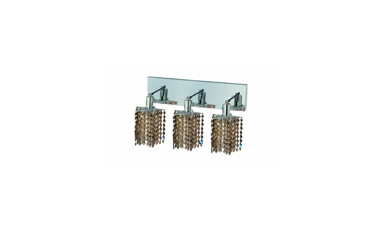 Elegant Lighting 1283W-O-P-GT Mini 3-Light Crystal Wall Sconce Sale $1110.00 ITEM: bci2009071 ID#:1283W-O-P-GT/SS :