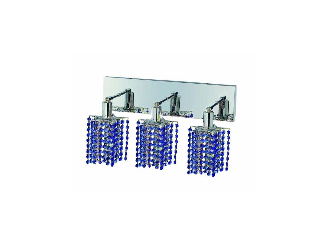 Elegant Lighting 1283W-O-P-SA Mini 3-Light Crystal Wall Sconce Sale $450.00 ITEM: bci2009080 ID#:1283W-O-P-SA/RC UPC: 609613233876 :