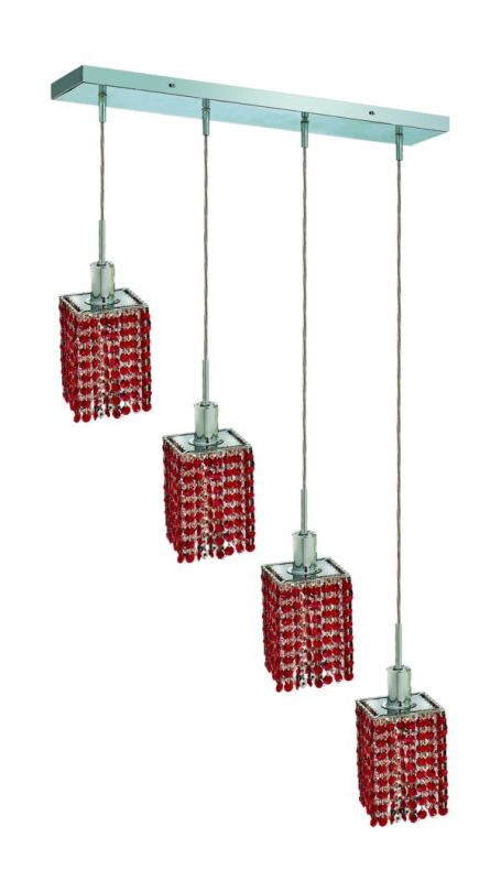 Elegant Lighting 1284D-O-S-BO Mini 4-Light Crystal Pendant Finished Sale $1526.00 ITEM: bci2009185 ID#:1284D-O-S-BO/SS :