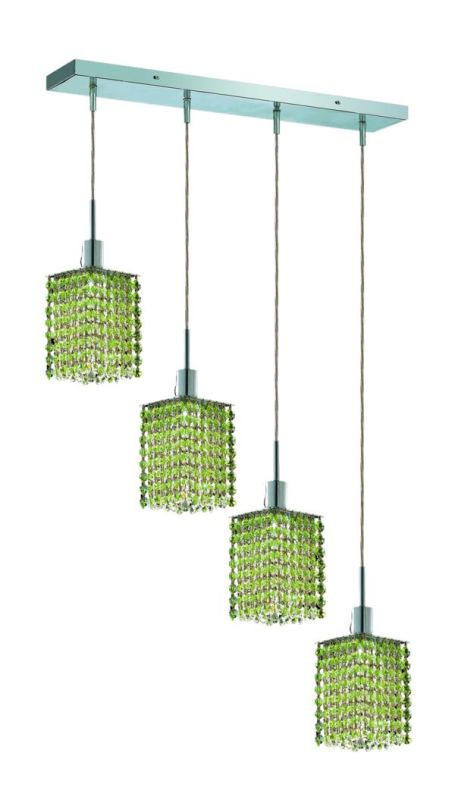 Elegant Lighting 1284D-O-S-LP Mini 4-Light Crystal Pendant Finished Sale $1526.00 ITEM: bci2009195 ID#:1284D-O-S-LP/SS :