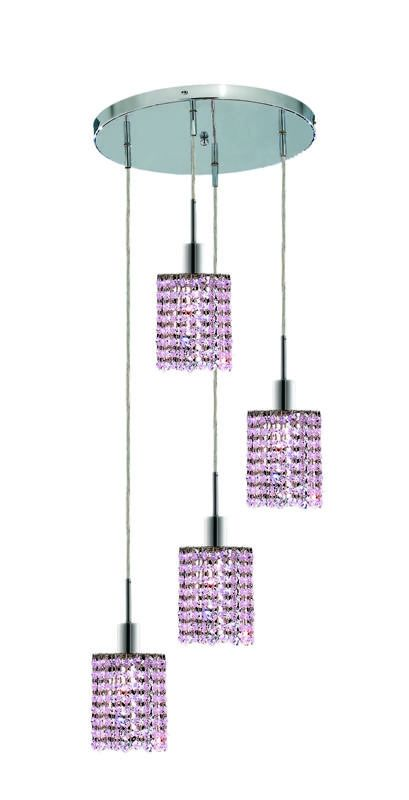 Elegant Lighting 1284D-R-R-RO Mini 4-Light Crystal Pendant Finished Sale $600.00 ITEM: bci2009258 ID#:1284D-R-R-RO/RC UPC: 609613234675 :
