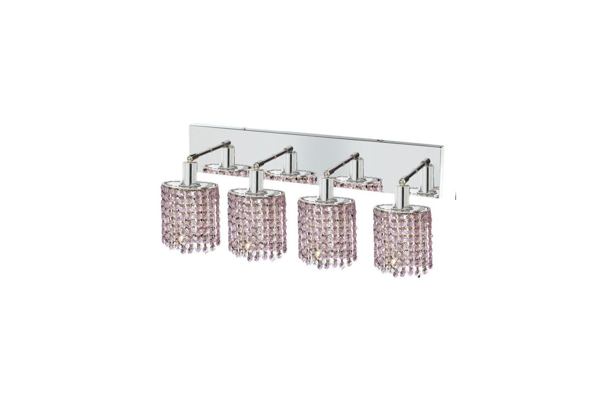 Elegant Lighting 1284W-O-E-RO Mini 4-Light Crystal Wall Sconce Sale $1480.00 ITEM: bci2009299 ID#:1284W-O-E-RO/SS :