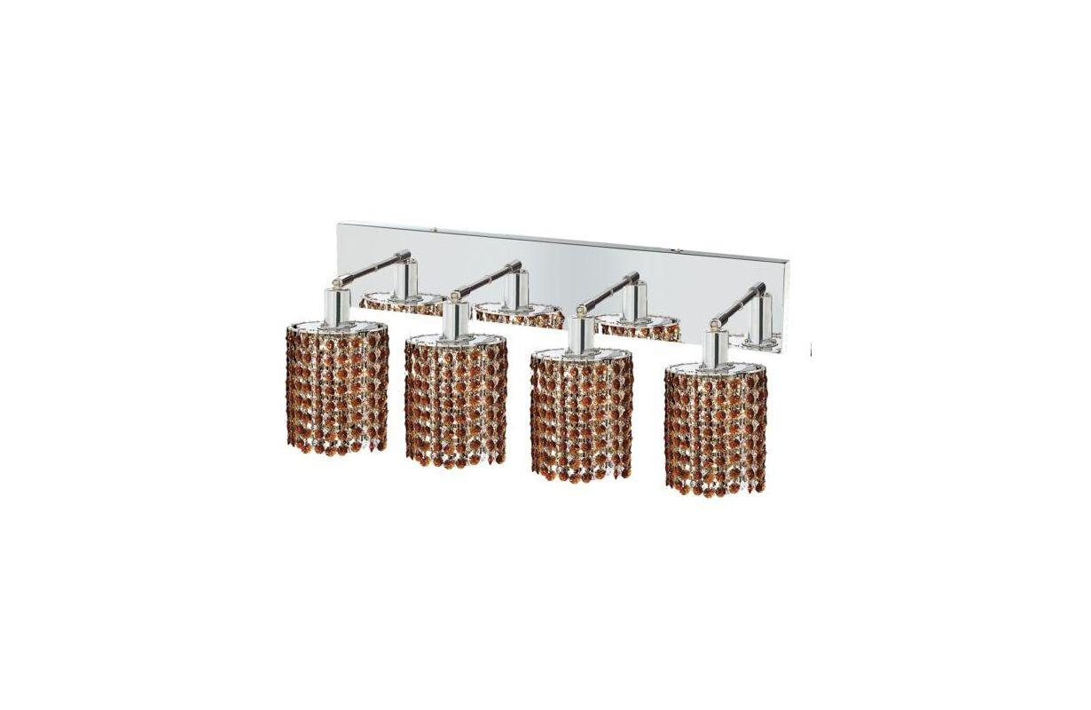 Elegant Lighting 1284W-O-E-TO Mini 4-Light Crystal Wall Sconce Sale $1480.00 ITEM: bci2009303 ID#:1284W-O-E-TO/SS :