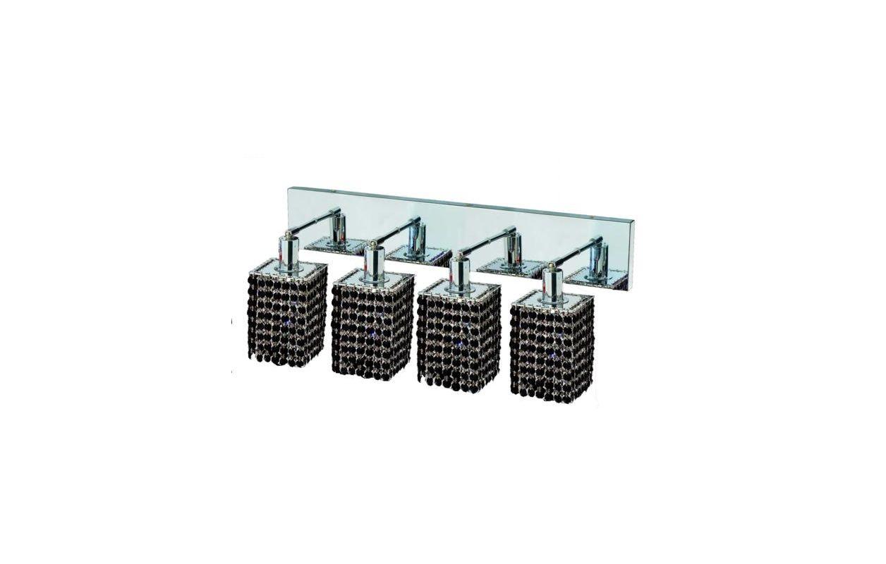Elegant Lighting 1284W-O-S-JT Mini 4-Light Crystal Wall Sconce Sale $1480.00 ITEM: bci2009353 ID#:1284W-O-S-JT/SS :