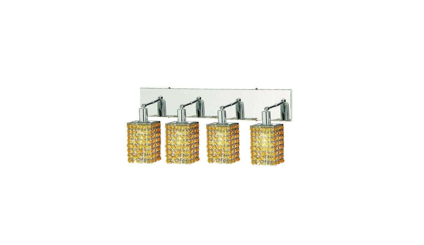 Elegant Lighting 1284W-O-S-LT Mini 4-Light Crystal Wall Sconce Sale $618.00 ITEM: bci2009356 ID#:1284W-O-S-LT/RC UPC: 609613235115 :