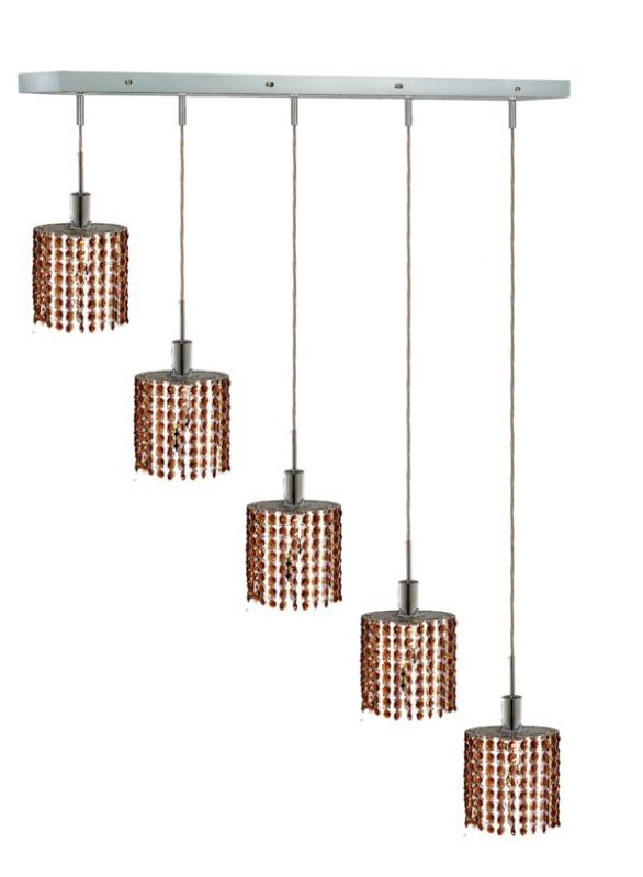 Elegant Lighting 1285D-O-E-TO Mini 4-Light Crystal Pendant Finished Sale $1906.00 ITEM: bci2009383 ID#:1285D-O-E-TO/SS :