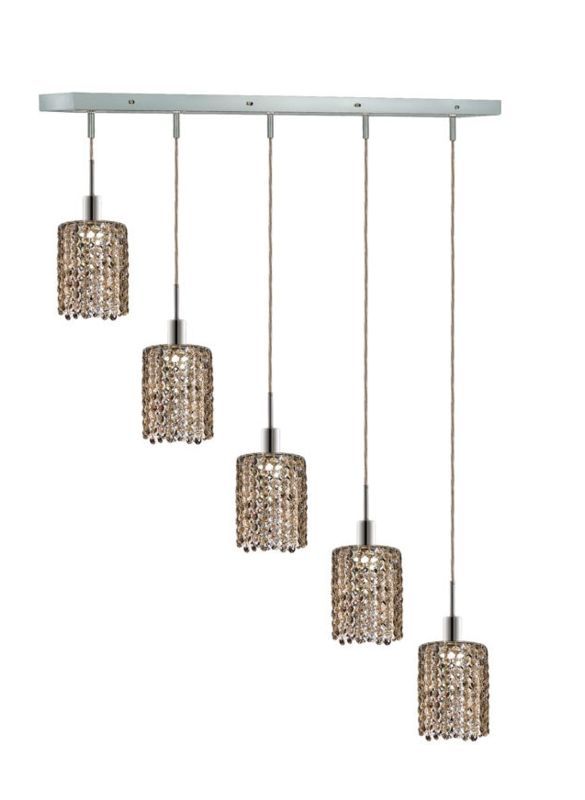 Elegant Lighting 1285D-O-R-GT Mini 5-Light Crystal Pendant Finished Sale $750.00 ITEM: bci2009410 ID#:1285D-O-R-GT/RC UPC: 609613235351 :