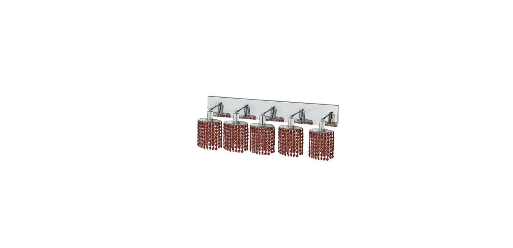 Elegant Lighting 1285W-O-E-BO Mini 5-Light Crystal Wall Sconce Sale $774.00 ITEM: bci2009444 ID#:1285W-O-E-BO/RC UPC: 609613235528 :