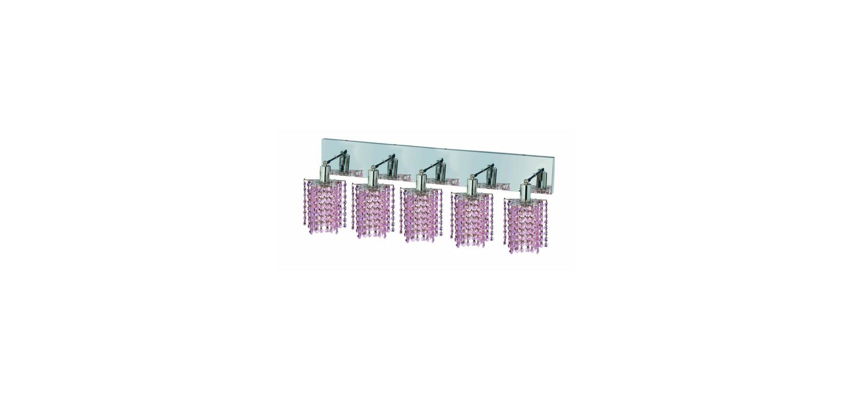 Elegant Lighting 1285W-O-P-RO Mini 5-Light Crystal Wall Sconce Sale $774.00 ITEM: bci2009478 ID#:1285W-O-P-RO/RC UPC: 609613235665 :
