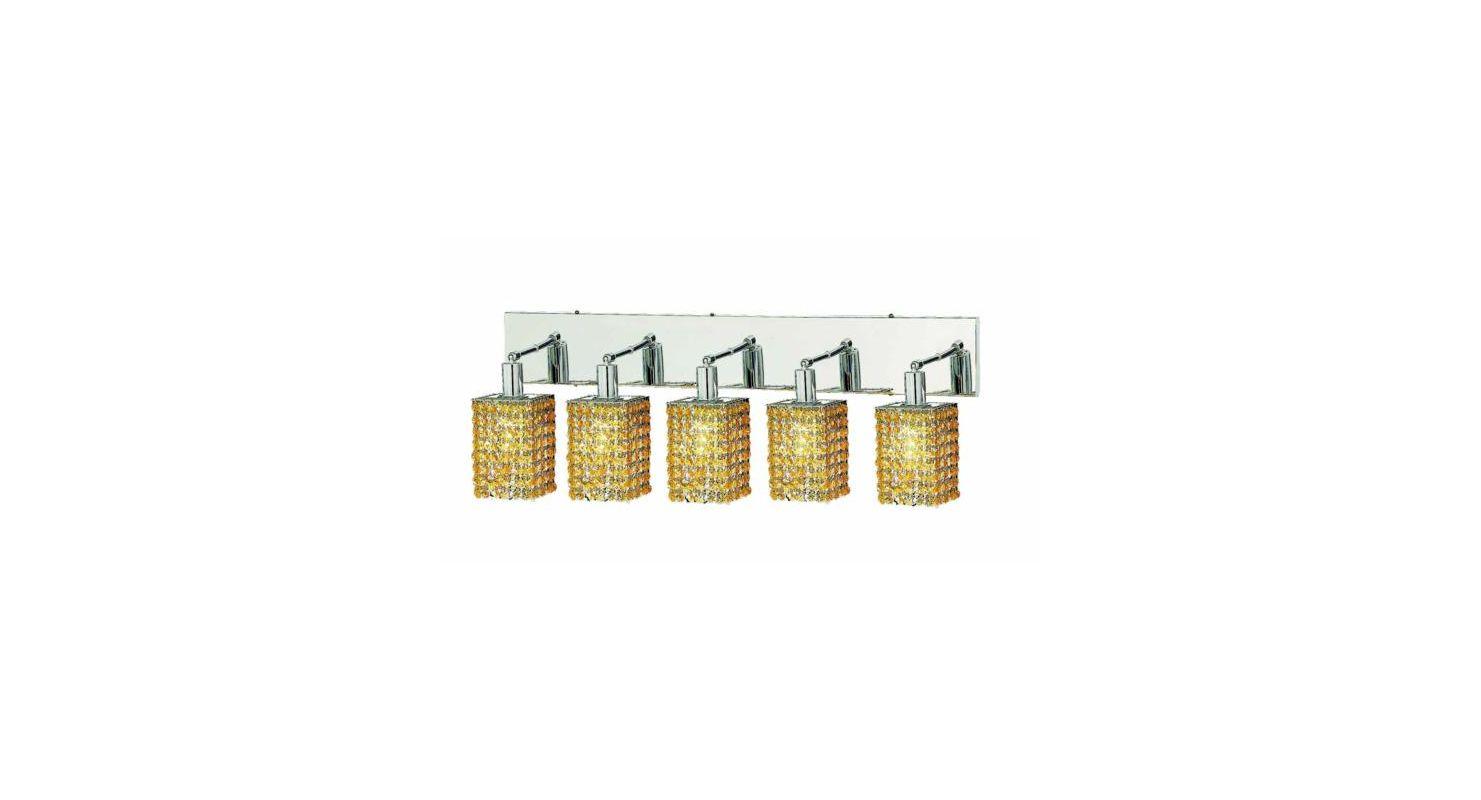 Elegant Lighting 1285W-O-S-LT Mini 5-Light Crystal Wall Sconce Sale $774.00 ITEM: bci2009516 ID#:1285W-O-S-LT/RC UPC: 609613235832 :