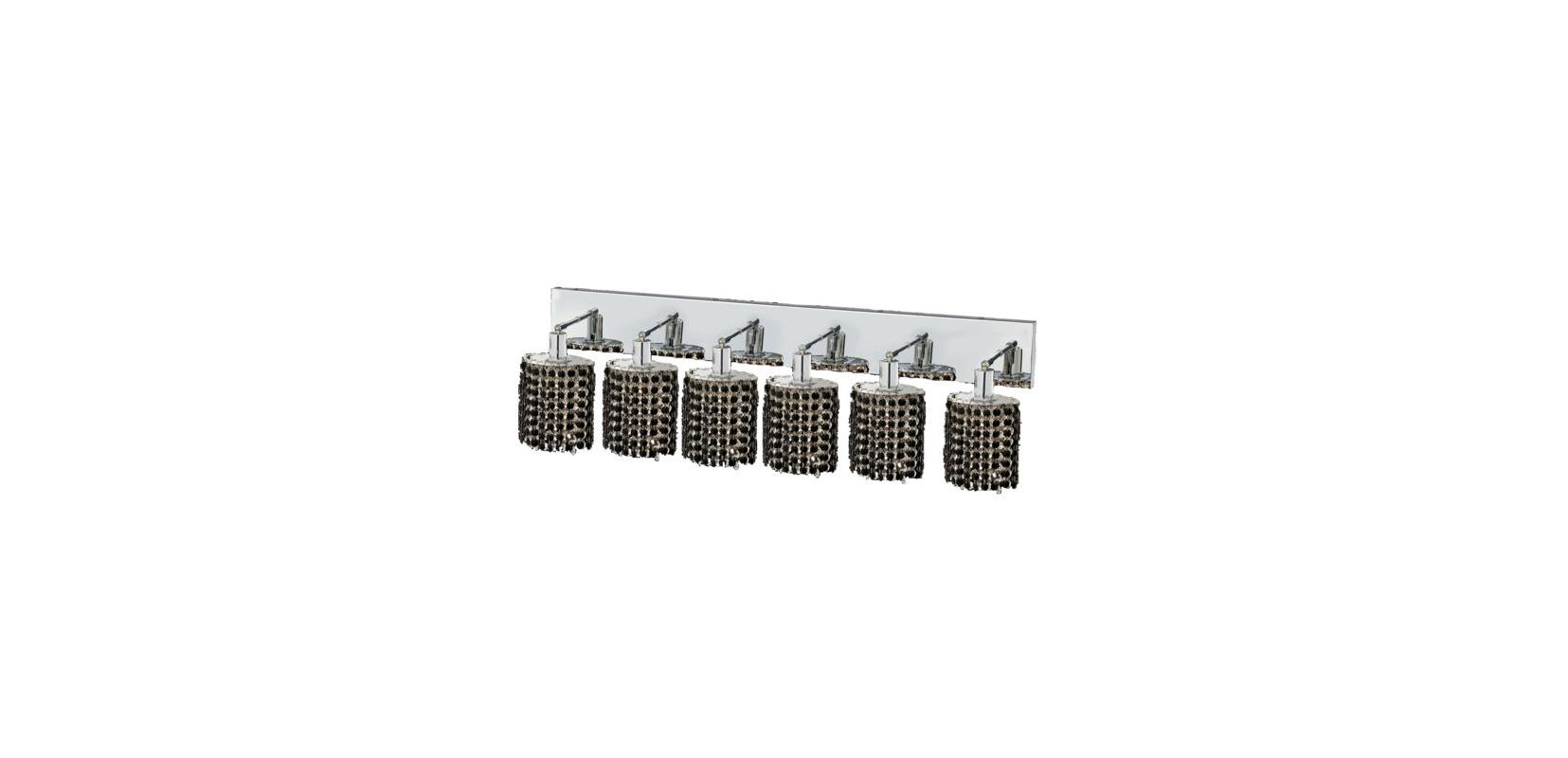 Elegant Lighting 1286W-O-E-JT Mini 6-Light Crystal Wall Sconce Sale $2220.00 ITEM: bci2009613 ID#:1286W-O-E-JT/SS :